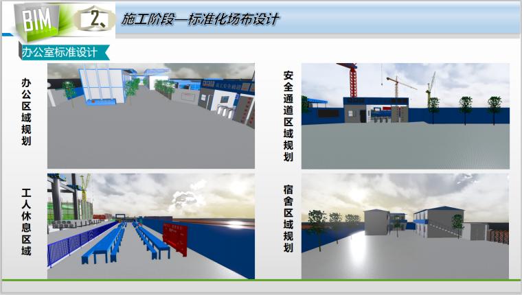 50层办公大厦各阶段BIM应用(含场布模型)-办公室标准设计