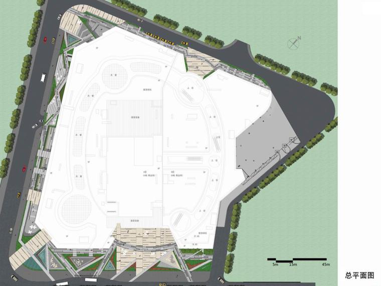 [广西]城市中心繁华商业广场景观设计方案
