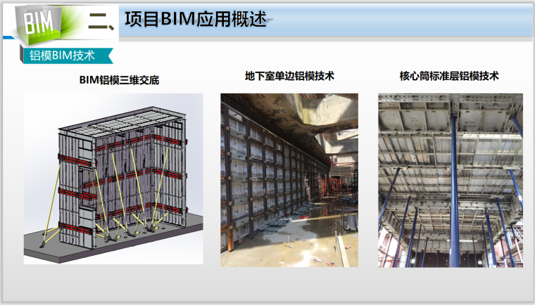 50层办公大厦各阶段BIM应用(含场布模型)-铝模BIM技术