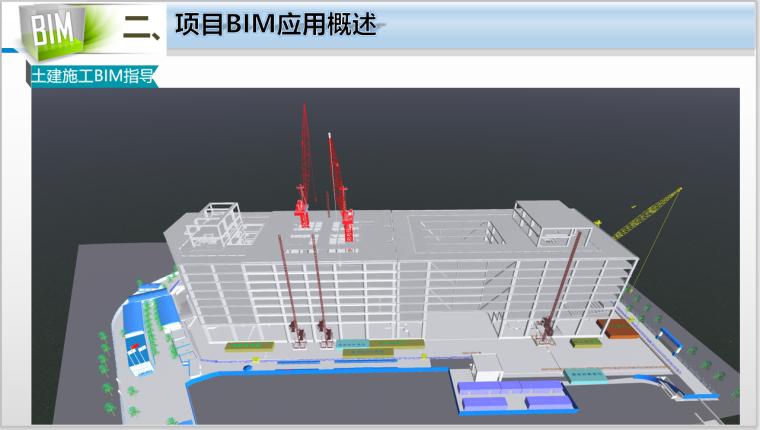 50层办公大厦各阶段BIM应用(含场布模型)-土建施工BIM指导