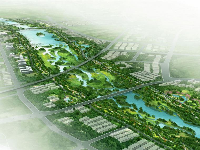 [陕西]文化生态公园景观规划设计方案