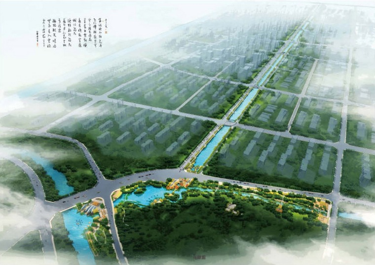 [河北]唐山城市环城水系修建性详细规划
