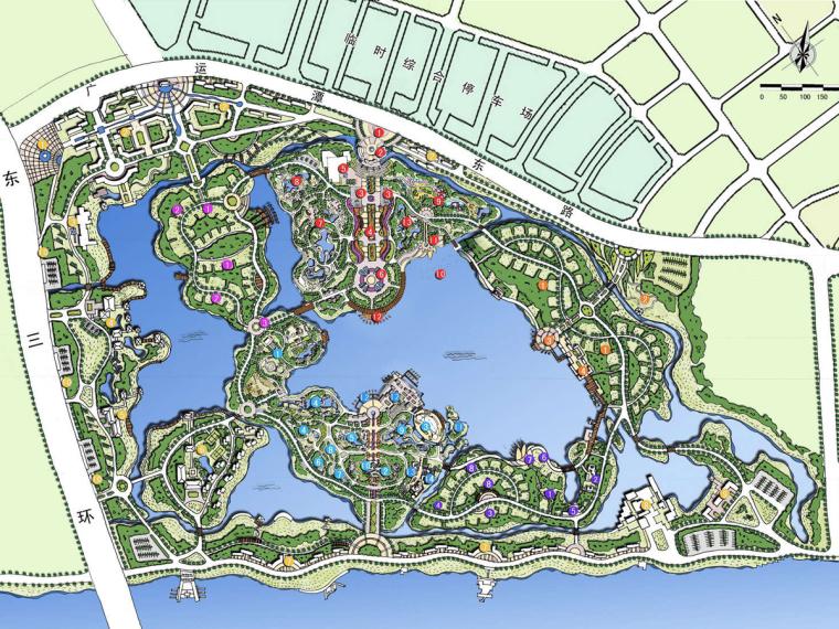 [陕西]国际博览型专类主题公园规划设计方案