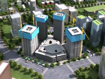 大型城市综合体工程BIM智能建造(含模型)