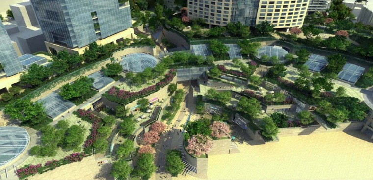 [江苏]城市综合公园概念规划设计方案