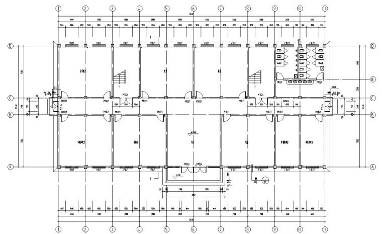 中学教学楼全套设计(含任务书,计算书等)