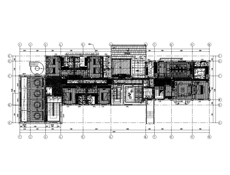 酒电改造项目电气照明施工图(含建筑景观)