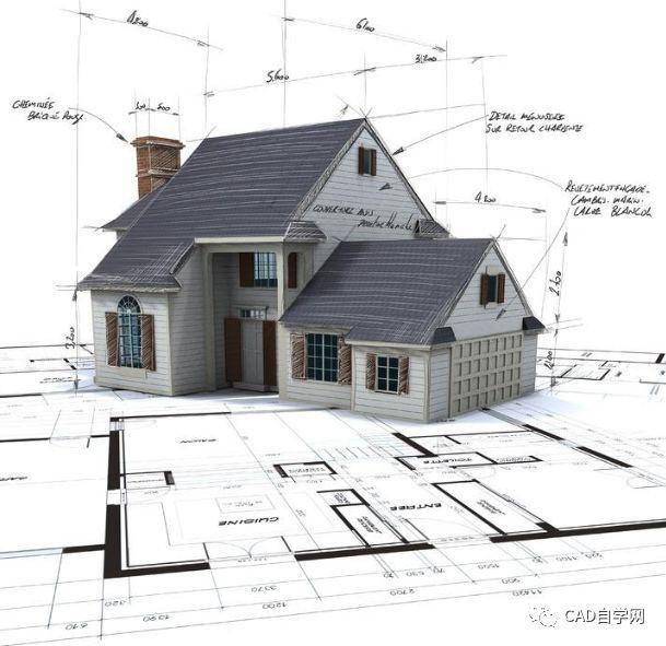 cad建筑图例门窗资料下载-CAD施工图看图步骤!