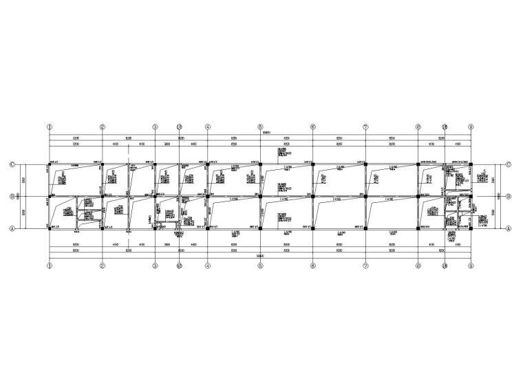 [常州]三层框架结构办公楼结构施工图