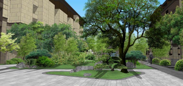 水庭景观效果图4