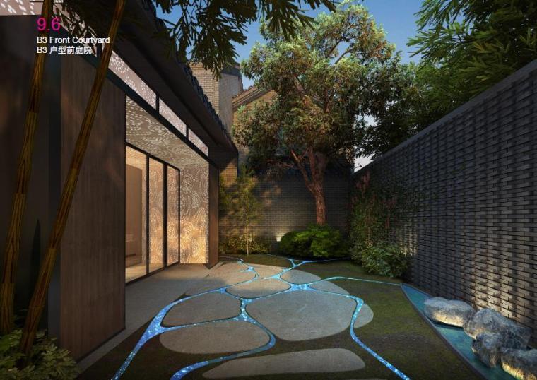 庭院景观效果图4