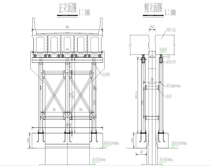 [福建]跨既有高速人行天桥架梁专项施工方案