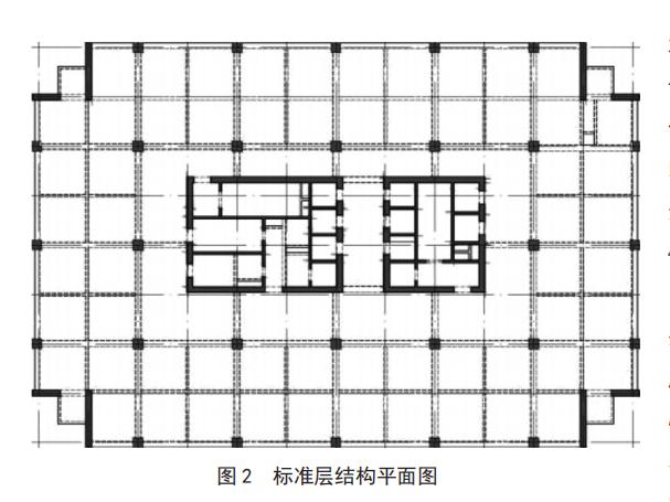 标准层结构平面图