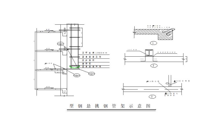 06 型钢悬挑底座做法