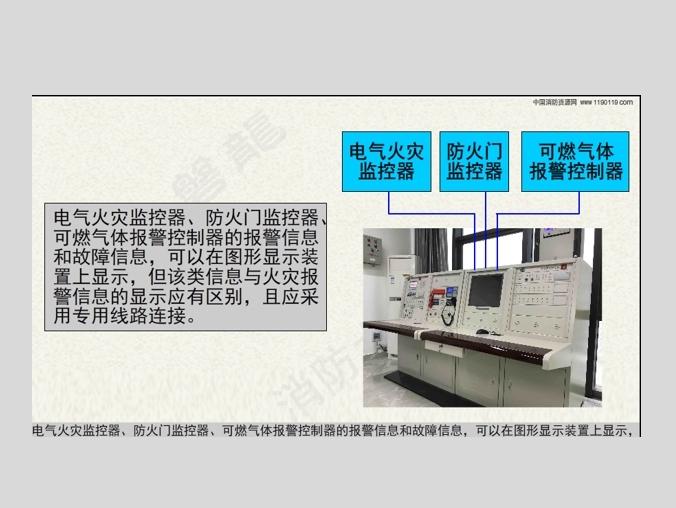 火灾报警系统-消防控制室-图形显示装置