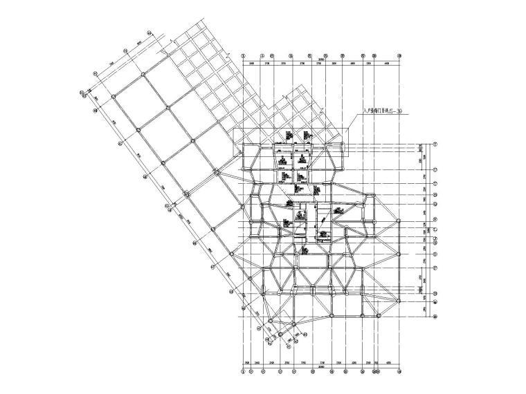 [重庆]28层剪力墙结构楼房结施图纸_含筒体