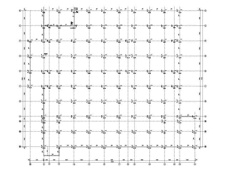 [长葛]5层框架结构医技综合楼结施图纸2015