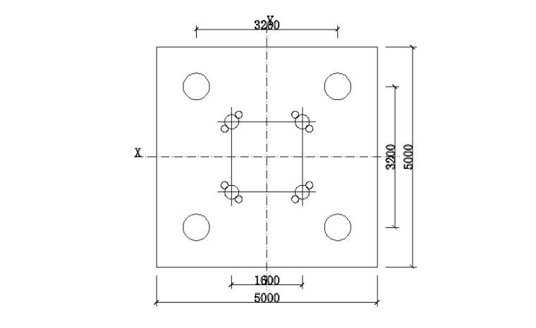 03 矩形桩式基础布置图