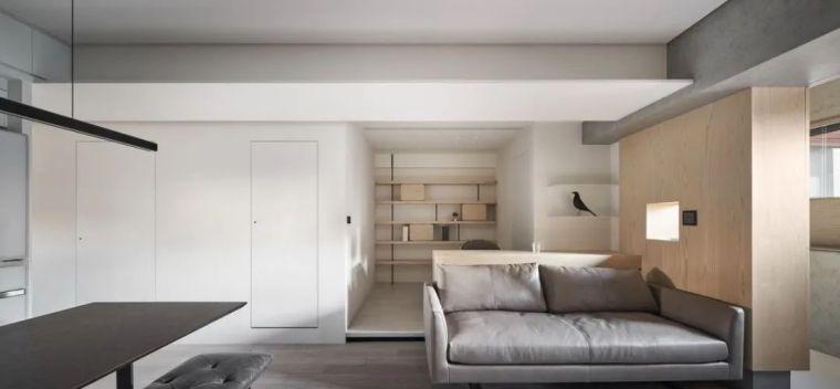 66㎡两居室,灯带这样用让家更有型_5