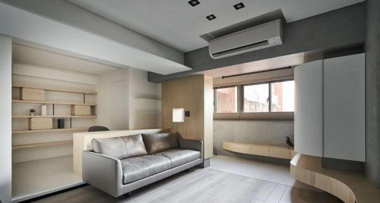 66㎡两居室,灯带这样用让家更有型_11