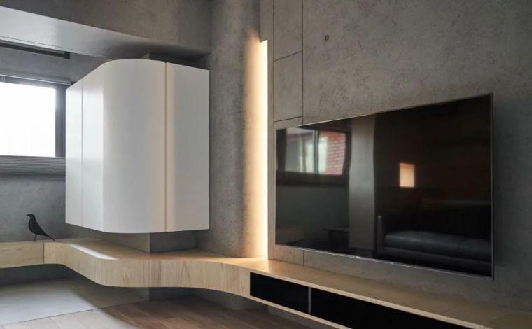 66㎡两居室,灯带这样用让家更有型_7