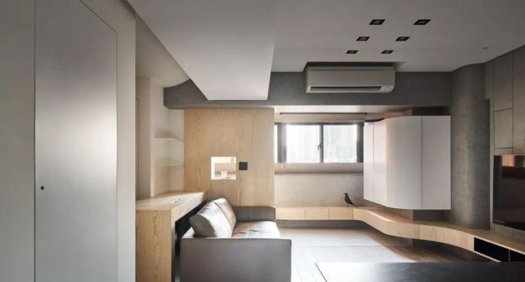 66㎡两居室,灯带这样用让家更有型_16