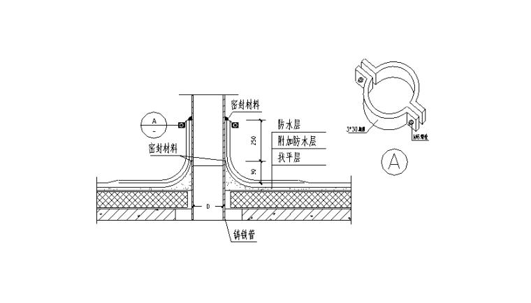 03 出屋面管道防水收口做法