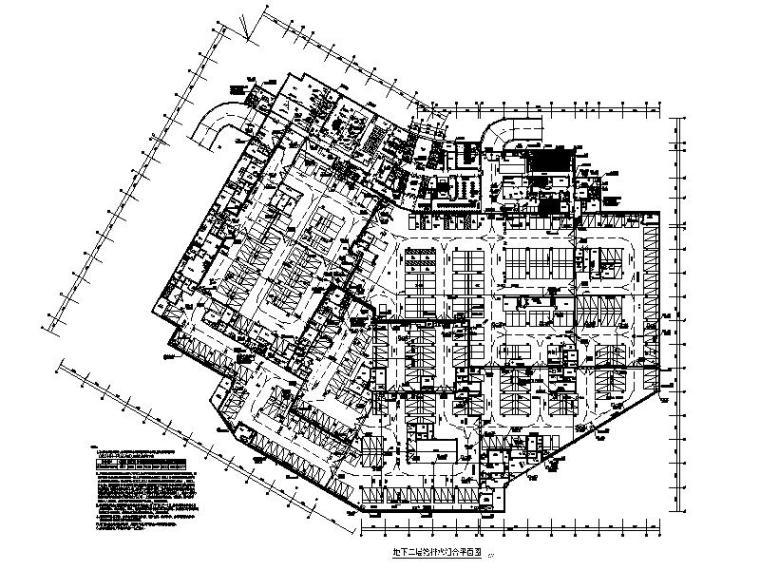 欧式二层滨水咖啡厅图资料下载-广州肿瘤防治中心给排水施工图设计