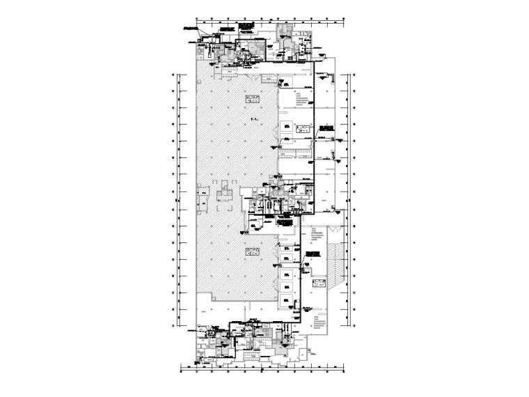 [河南]某小区地下室人防工程电气图纸