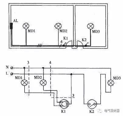 初学者必看:照明设计中的布线与线路控制_7