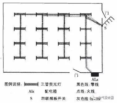 初学者必看:照明设计中的布线与线路控制_10