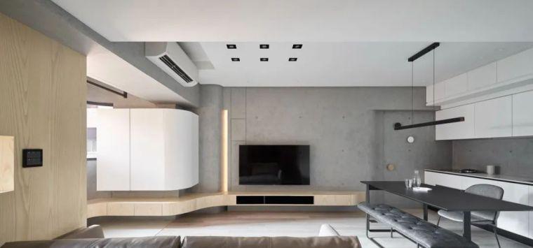 66㎡两居室,灯带这样用让家更有型_2