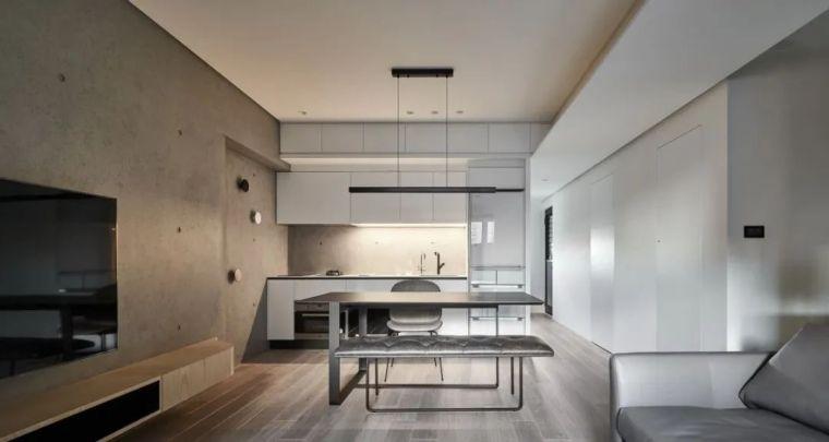 66㎡两居室,灯带这样用让家更有型_4