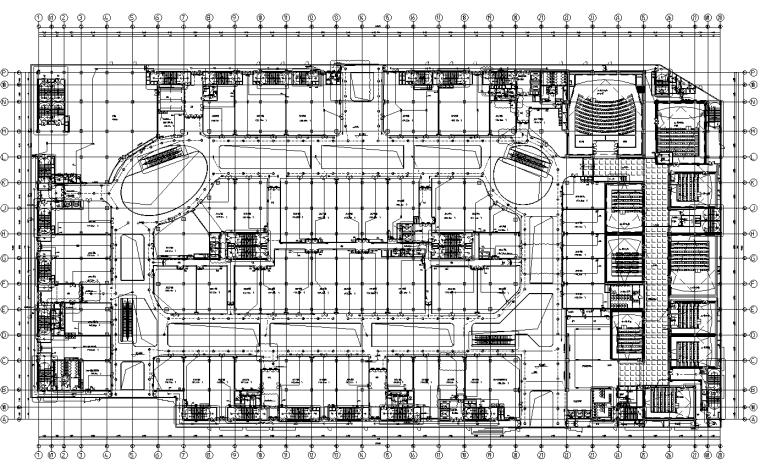 河南商业购物广场强电施工图(含计算书)