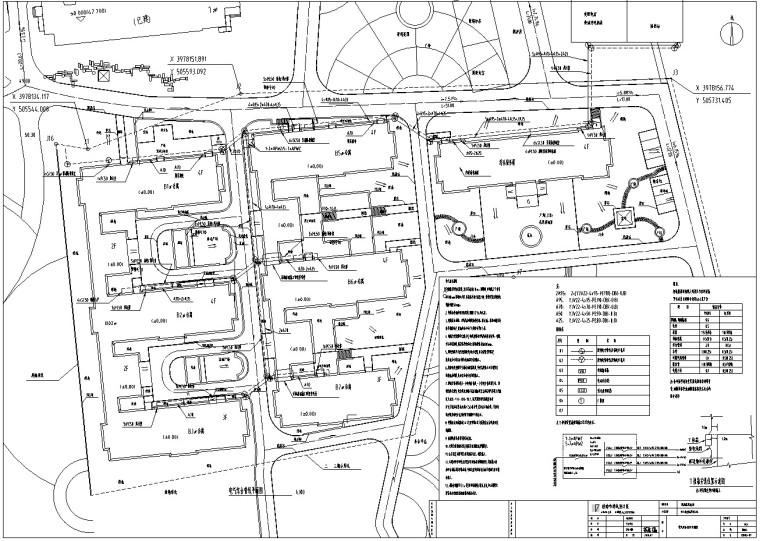 中心敬老院室外配套扩建工程清单(含图纸)