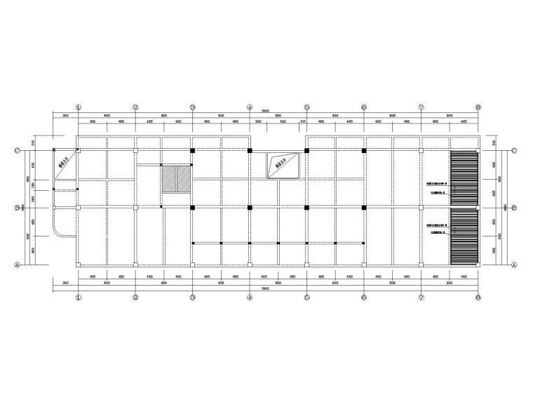某框架办公楼屋面梁板粘贴碳纤维加固设计
