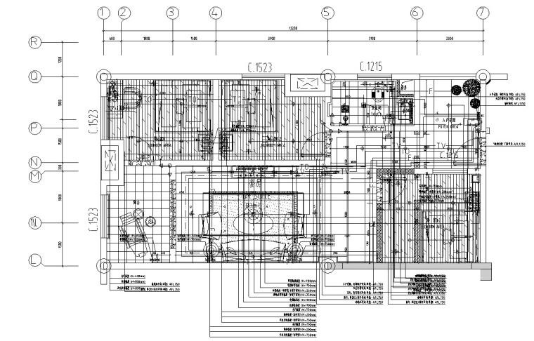 安置房项目商业区装饰工程清单(含图纸)