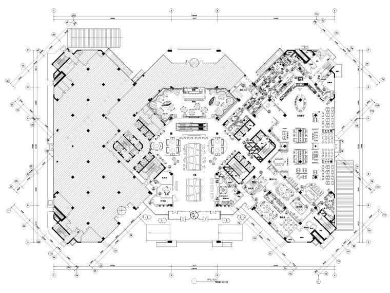 [上海]铂尔曼五星级酒店设计施工图+效果图