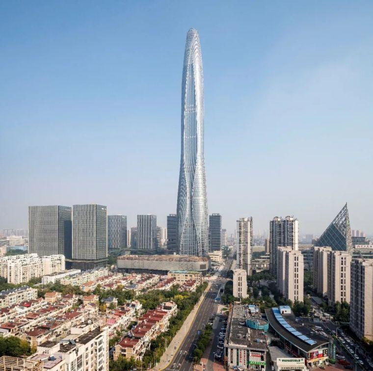 北方之钻:530米高的天津周大福金融中心