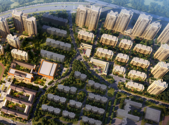 合肥复合城市社区住宅及配套方案设计文本