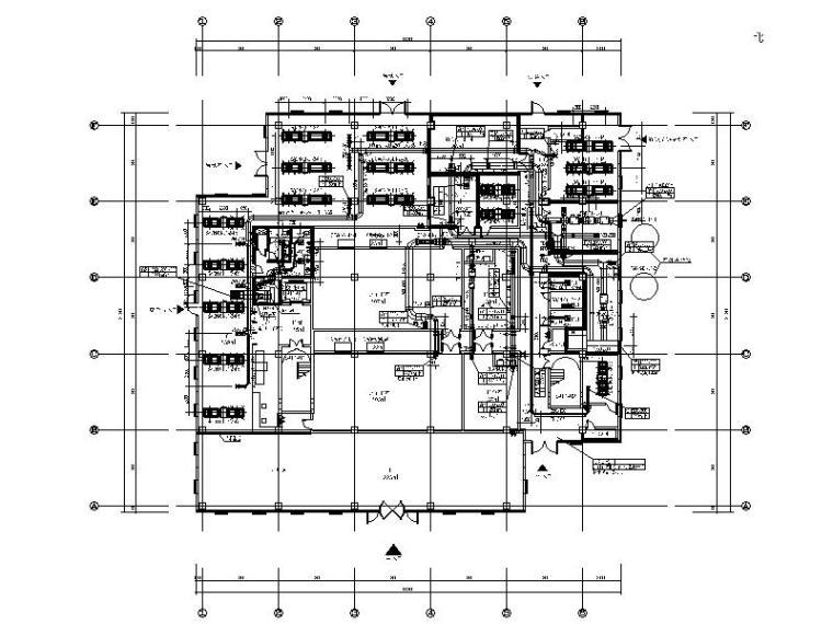 医用气体机房设计资料下载-湖南云计算数据中心机房冷热源设计施工图