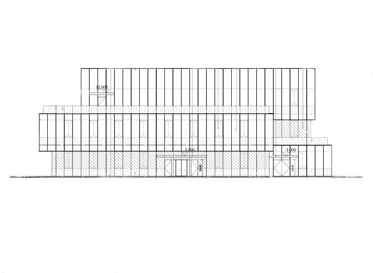 [湖南]计算数据中心总控中心图纸及招标规书