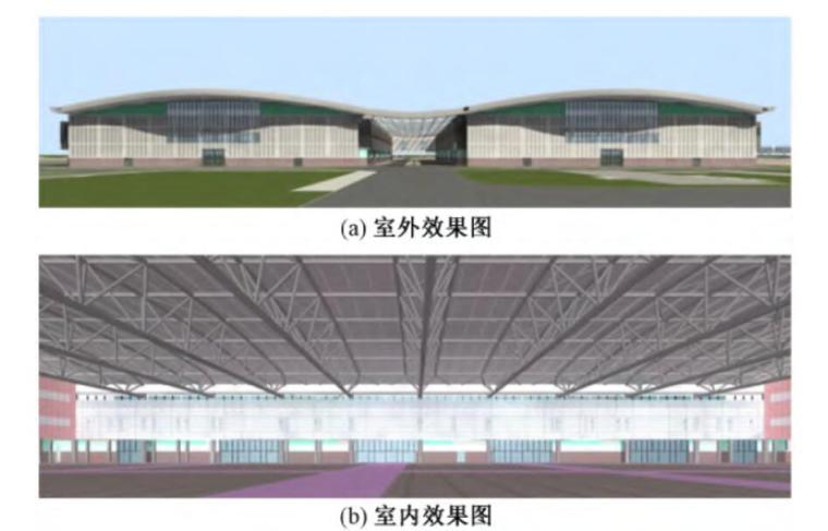 深圳国际会展中心标准展厅结构设计