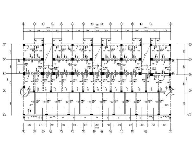 框剪住宅结构资料下载-六层小洋楼住宅框剪结构施工图(CAD)