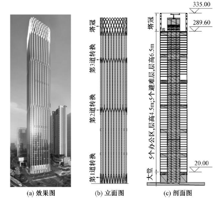 保利增城金融总部办公塔楼结构设计