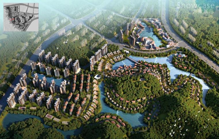 [广东]云浮新城市主义特色小镇景观设计方案