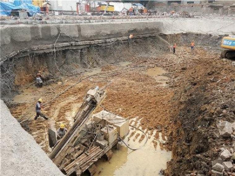深基坑管井降水工程施工方案