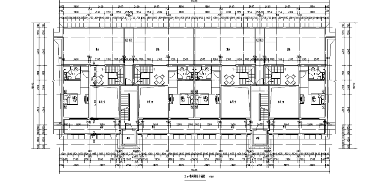 浙江中央公馆住宅立面施工图设计 (3)