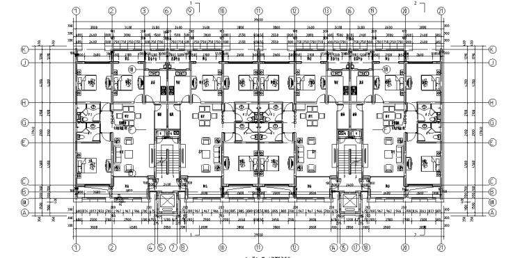 浙江中央公馆住宅立面施工图设计 (5)