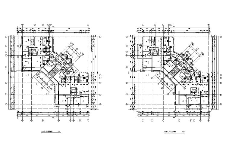 浙江中央公馆住宅立面施工图设计 (10)